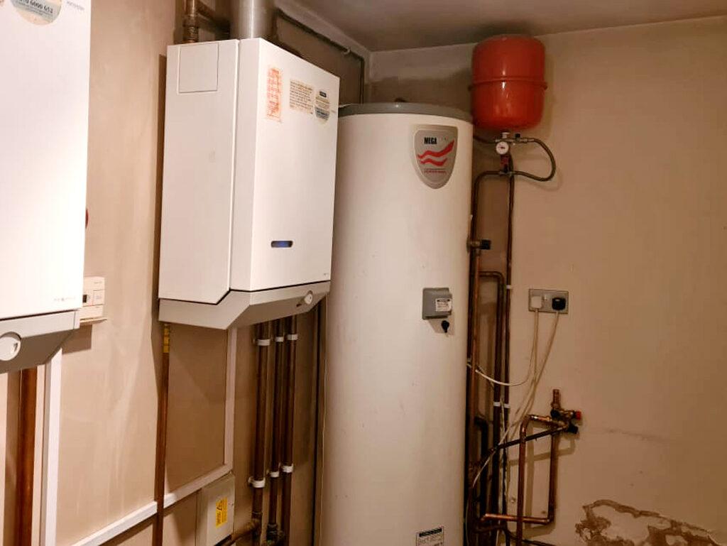 Megaflo Unvented Cylinder installation in Watford